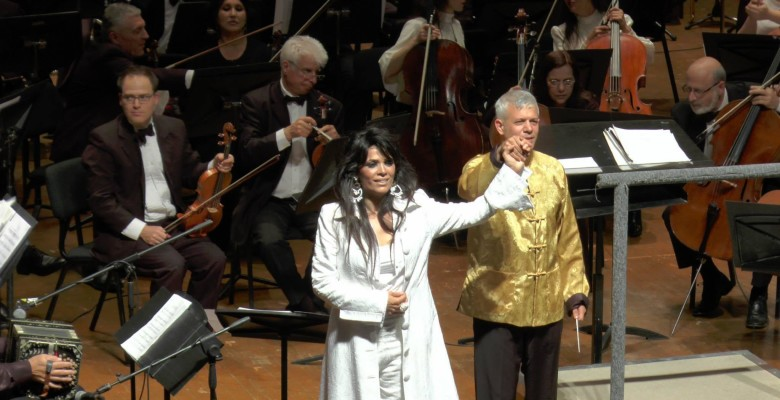 WIth Yasmin Levy and Jerusalem symphony